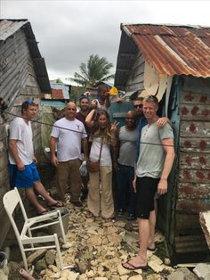 Visiting the village La Cienega where we helped deliver soup during the flood! Thank you to all that helped us make a soup kitchen!