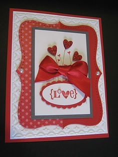 Creating With Carol: Valentine Cards