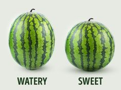 Simple steps to selecting the right watermelon for your picnic or other outing.