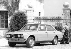Alfa Romeo Alfetta - 1972 #alfa #alfaromeo #italiandesign
