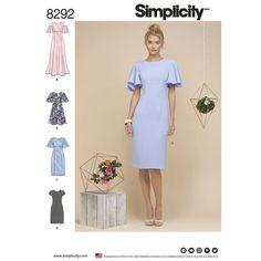 c5b39fdcd4c9 Simplicity Pattern 8292 Misses  Miss Petite Dresses Formal Dress Patterns