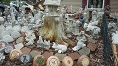 Garden statues and figures. Landscaping yard statues. www.bazahhomearts.com