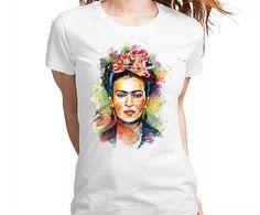 Frida Kahlo Tshirt Camiseta Camisa Tee