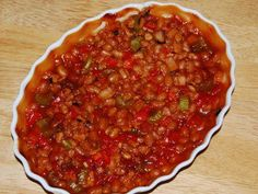 Home made bean soup (Bosnian style)