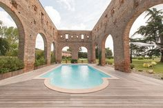 Converted ruins wedding venue in South of France
