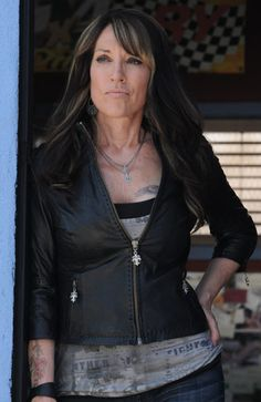 """""""Gemma is my favorite character because it's a mix of keeping it sexy biker but not slutty,"""" says """"Sons of Anarchy"""" costume designer Kelli Jones."""