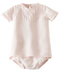 Baby Girl Yoke Dress and Bloomer - Pink | Hallmark Baby Clothes