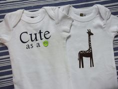 Cut, Craft, Create: Baby Gifts for a Baby Boy (or Girl!)