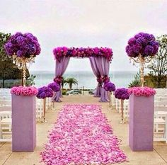Beautiful for a purple theme wedding
