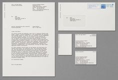 Bauhaus Dessau identity sample by HORT