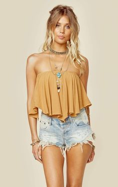 335a6085857 Dancing queen crop top. High Waisted Shorts OutfitBoho ...