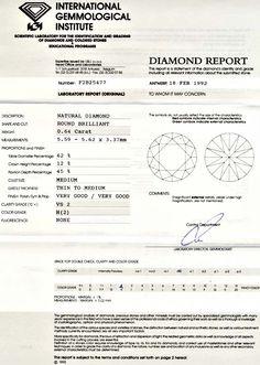 Foto 9, Diamant Brillant 0,64ct IGI Weiss Wesselton VGVG Juwel!, D5571