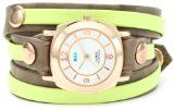 La Mer Collections Women's LMDYLY1000 Neon Odyssey Layer Cement Wash Neon Layer Watch $88.00