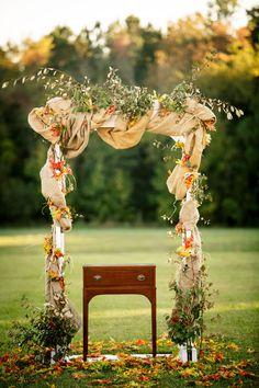 An elegant autumn wedding at The Williamsburg Winery   Grant & Deb Photographers: grantdeb.com