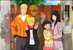 Whole Uzumaki Family ♥♥♥ Naruto, Hinata, Boruto, Himawari + Minato, Kushina, Jiraiya and Neji ♥
