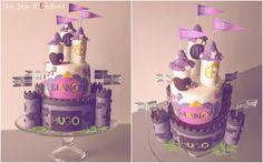 chateau-jumeaux / Castle cake