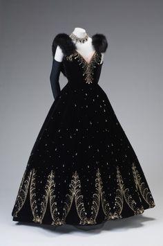 Ball Gown by Philip Hulitar, circa 1950.