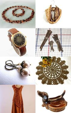 The best gifts on Etsy in brown by Tetyana on Etsy--Pinned+with+TreasuryPin.com