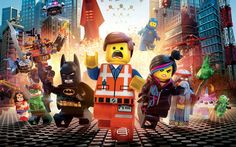 Photo Wallpaper - LEGO Movie. We are send it at tubes. | eBay!