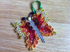 Quilled Butterfly Wall Hanging