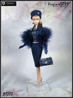 Tenue Outfit Accessoires Pour Barbie Silkstone Vintage Integrity Toys 1203   eBay