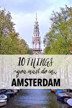 "Despite my short stay, I absolutely fell in love with Amsterdam when I traveled there with my cousin two weeks ago. We managed to see so many sights and do so many activities that are quintessentially ""Amsterdam"" that I thought I would share my list of the 10 things you must do in Amsterdam. 1.…"