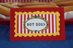 free printables that work for the circus theme, awesome ideas too