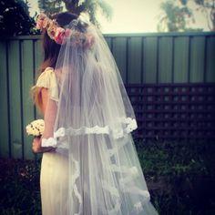 Boho Bohemian Vintage Look Bridal by flowerkincreations on Etsy, $350.00
