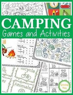 Camping Games and Activities includes 25 fun puzzles, mazes and games to play du… – Adele Pins Camping Places, Camping Meals, Family Camping, Camping Tips, Camping Recipes, Camping Stuff, Camping Cooking, Backpacking Meals, Camping Gadgets