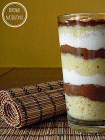 czyli o tym, że zdrowe jedzenie nie musi być nudne :): Jaglany warstwowiec z kremem czekoladowym