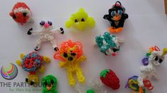 Loom Band Animals, Loom Bands, Rainbow Loom, Pinterest Board, Crochet Necklace, Projects To Try, Birthday Parties, Product Launch, Craft Ideas