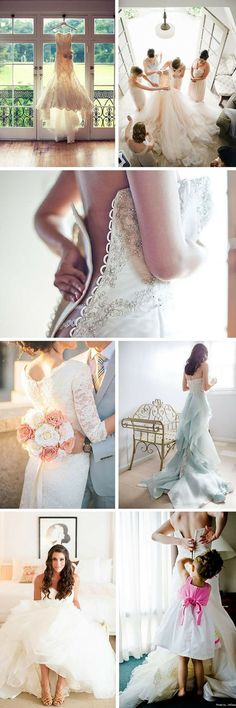24 Must Take Photos Of Your Wedding Dress ❤ In our gallery of must take photos of your wedding dress we want to show best ideas to capture most memorable moments. See more: http://www.weddingforward.com/must-take-photos-wedding-dress/ #wedding #photo