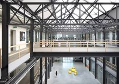 Archipl-Architects has converted a 19th-century factory into the regional headquarters for a care home in Ghent, Belgium. The building was originally established in 1895 as a sulphuric acid factory, and was later taken over by the washing machine company D'Hooge Laundry before ending up in the hands of the organisation.