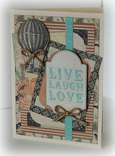 kaisercraft periwinkle card - Google Search