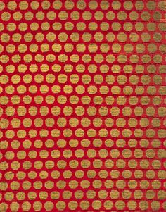 Brocaded velvet, Probably Italian, 14th century. Brocaded velvet of silk and metal thread. 23 x 9 in. (58.4 x 22.9 cm). Metropolitan Museum of Art, Fletcher Fund, 1946 (46.156.72).
