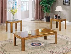 Find Inland Empire Furniture Mindel Oak Parquet Top 3 Piece Coffee End Table Set online. Shop the latest collection of Inland Empire Furniture Mindel Oak Parquet Top 3 Piece Coffee End Table Set from the popular stores - all in one 3 Piece Coffee Table Set, Oak Coffee Table, Coffee And End Tables, End Table Sets, Oak Table, Table 19, Occasional Tables, Accent Furniture, Table Furniture