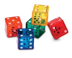 Learning Resources Dice In Dice Set Of 72 for only $14.86 You save: $5.13 (26%)