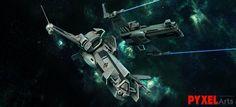 Entropia Planets Space Ship