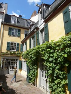 Beethoven-Haus - Bonn, Germany Beethoven's Birthplace, via Flickr. I have been here a couple of times.