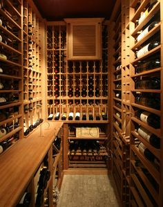 small wine cellar - Google Search & Basement Renovation: The Inspiration | Oliver u0026 Belle | The Good ...