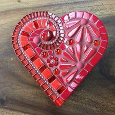Mosaic Garden Art, Mosaic Wall Art, Mosaic Diy, Mosaic Crafts, Mosaic Projects, Tile Art, Mosaic Glass, Fused Glass, Mosaic Ideas