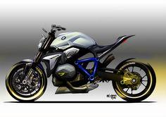 2014 BMW 모터라드 컨셉 로드스터(BMW Motorrad.Concept Roadster) 바이크