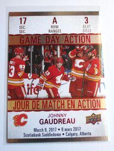 2017-18 Johnny Gaudreau Tim Hortons Game Day Action Hockey Card - #GDA-3   eBay