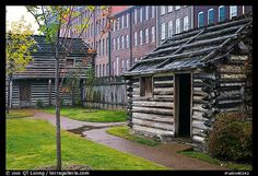Fort Nashboro, right in downtown Nashville next to the Cumberland River Tennessee Waltz, State Of Tennessee, Nashville Tennessee, Cumberland River, 2nd City, Architectural Elements, Historical Sites, Old Houses, Picture Photo