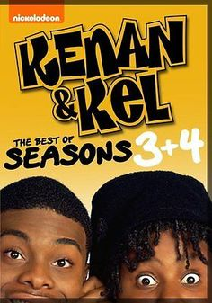 Kenan & Kel Complete Season 3 4 DVD Collection TV Show Series Set Nickelodeon Comedy Tv Shows, Comedy Show, Movies And Tv Shows, Kenan E Kel, Black Sitcoms, Dan Schneider, Kenan Thompson, Best Seasons, Best Series