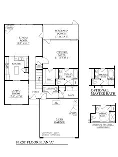 images about Best Home Plans on Pinterest   House plans    House Plan  A Bowman A first floor