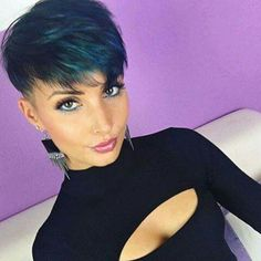 Fantastic Pixie Hairstyles The post Pixie Hairstyles… appeared first on Cool Hairstyles . Debs Hairstyles, Virtual Hairstyles, Pixie Bob Hairstyles, Short Pixie Haircuts, Undercut Hairstyles, Short Hair Cuts For Women Pixie, Edgy Short Hair, Jenny Schmidt, Medium Hair Styles