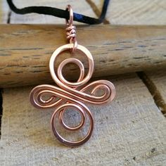 Our Celtic Copper Infinity Swirls Cross Pendant getting ready to be shipped.