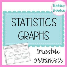 This statistics graphic organizer compares histograms, dot plots, and box and whisker plots. I included 3 options so you can fill them in together as a class or just give as a handout. High School Algebra, Algebra 1, Probability Worksheets, Ap Statistics, Secondary Math, Math Help, Education Humor, Study Skills, School Subjects