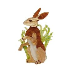 Habitual Hare Brooch South Milwaukee, Retro Outfits, Hare, Tinkerbell, Disney Characters, Fictional Characters, Brooch, Christmas Ornaments, Disney Princess